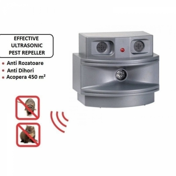 Aparat anti rozatoare Efective Triple Ultrasonic Pest Away Plus