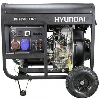 Generator de curent trifazat cu motor diesel HYUNDAI