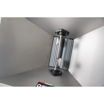 Zdrobitor struguri mare - cu motor 220 V, 1 CP, cuvă inox 950 X 600 mm #2