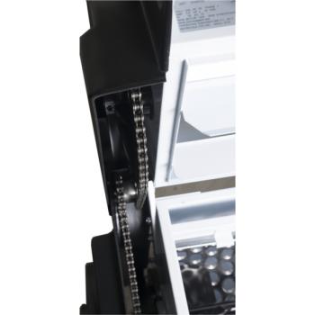 Dezciorchinător cu zdrobitor, cuvă rabatabilă vopsea emailată 870 x 500 mm, motor 2CP/220V, pompă centrifugă inox, capacitate maximă 2.000 kg/oră #3