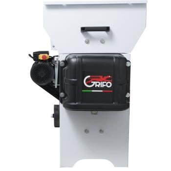 Dezciorchinător cu zdrobitor, cuvă rabatabilă vopsea emailată 870 x 500 mm, motor 2CP/220V, pompă centrifugă inox, capacitate maximă 2.000 kg/oră #4