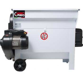 Dezciorchinător cu zdrobitor, cuvă rabatabilă vopsea emailată 870 x 500 mm, motor 2CP/220V, pompă centrifugă inox, capacitate maximă 2.000 kg/oră