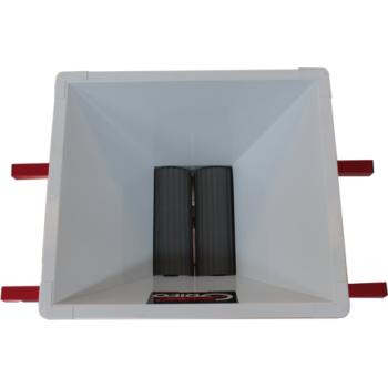 Mini zdrobitor struguri - manual ,cuvă vopsea email 400 X 400 mm #2