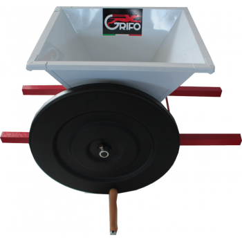 Mini zdrobitor struguri - manual ,cuvă vopsea email 400 X 400 mm #3