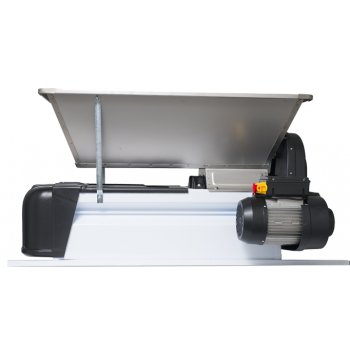 Dezciorchinător cu zdrobitor, cuvă inox (900 x 500 mm) - motor 220 V, 1 CP, capacitate maximă 1.500 kg/oră