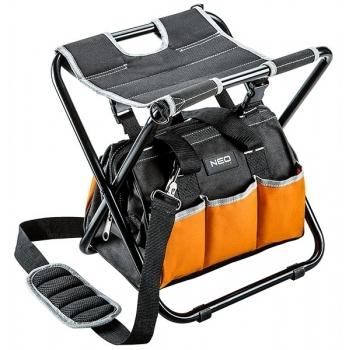 Scaun cu geanta pentru scule neo tools