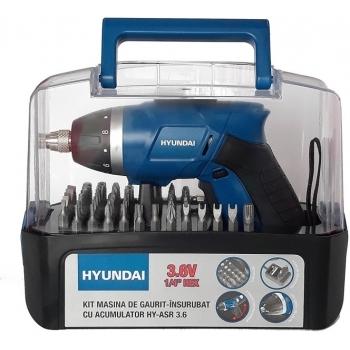 Masina de insurubat/gaurit cu acumulatori Hyundai