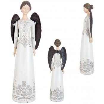 Figurina Inger decorativ polirasina 25 cm #2