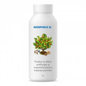 Produs cu efect antifungic și insecticid pentru pomi și arbuști fructiferi (fara continut de ulei mineral), Morpheus SL, 1 litru, SemPlus