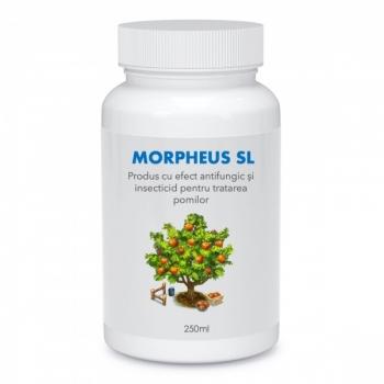 Produs cu efect antifungic și insecticid pentru pomi și arbuști fructiferi (fara continut de ulei mineral), Morpheus SL, 250 ml, SemPlus