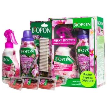 Kit pentru ingrijirea orhideelor, Biopon