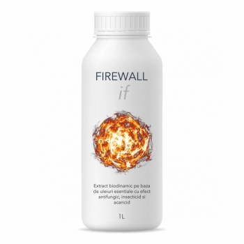 Extract biodinamic cu efect antifungic, insecticid si acaricid, Firewall IF, 1 litru, SemPlus