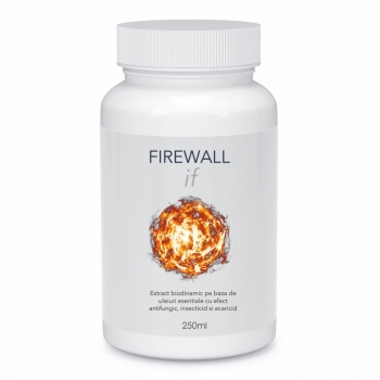 Extract biodinamic cu efect antifungic, insecticid si acaricid, Firewall IF, 250 ml, SemPlus