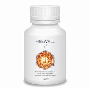 Extract biodinamic cu efect antifungic, insecticid si acaricid, Firewall IF, 100 ml, SemPlus
