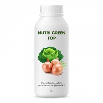 Stimulator de crestere pentru varza, salata si ceapa, Nutri Green Top, 1 litru, SemPlus