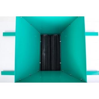 Zdrobitor STRUGURI cu cadru verde #2