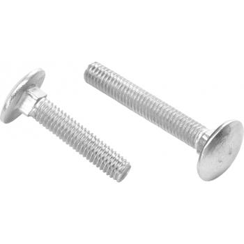 Surub torbant zincat DIN 603, 10*80 mm(100 buc), Honest