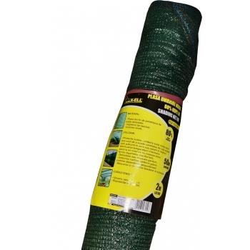 Plasa umbrire verde HDPE UV(50*2 m), Honest