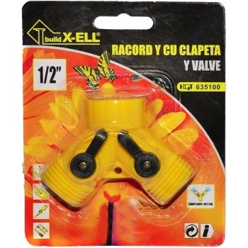 Racord Y cu clapeta(1/2 inch), Honest