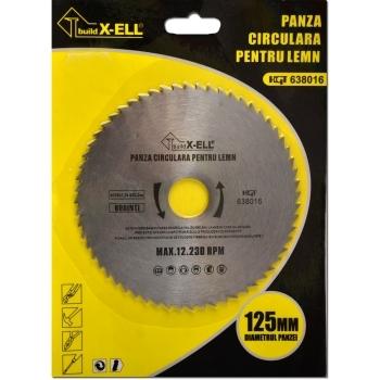 Panze circulare lemn(125*22.23 mm), Honest