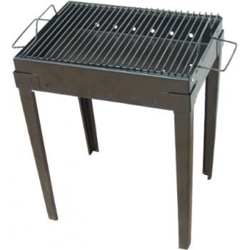 Gratar pentru camping din tabla neagra(410*310 mm), Honest