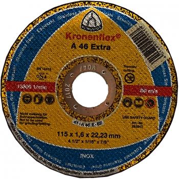 Disc abraziv Klingspor A46 extra(125*1.6 mm), Honest