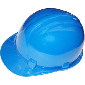 Casca protectie albastra, Honest #2