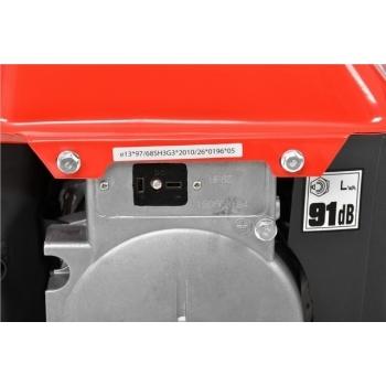 Generator de curent Hecht Nordex, GG 950 DC, monofazic, putere 0.72 kW, benzina, putere motor 2 Cp, tensiune 230 V, pornire manuala #3