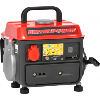 Generator de curent Hecht Nordex, GG 950 DC, monofazic, putere 0.72 kW, benzina, putere motor 2 Cp, tensiune 230 V, pornire manuala