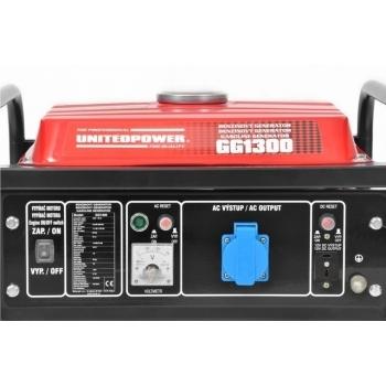 Generator de curent Hecht Nordex, GG 1300, monofazic, putere 1.1 kW, benzina, putere motor 2.4 Cp, tensiune 230 V, pornire manuala #2