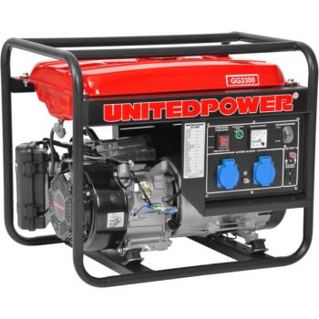 Generator de curent Hecht Nordex, GG 3300, monofazic, putere 3.0 kW, benzina, putere motor 7 Cp, tensiune 230 V, pornire manuala