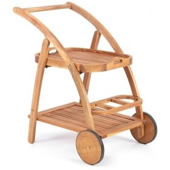 Carucior Hecht S Trolley, lemn, Hecht