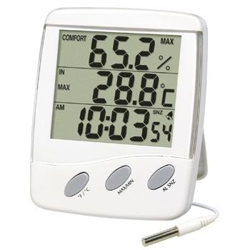 Aparat de masurat temperatura si umiditatea Interior – Exterior