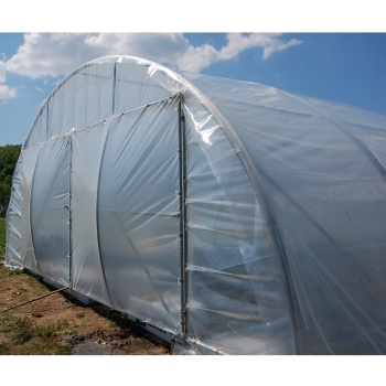 Solar tunel 8x34 m, folie dubla inflata