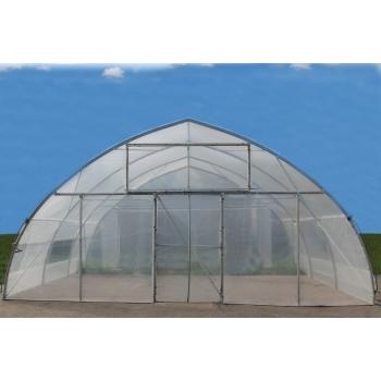 Solar gotic cu pereti verticali 10x30 m, folie dubla inflata #4