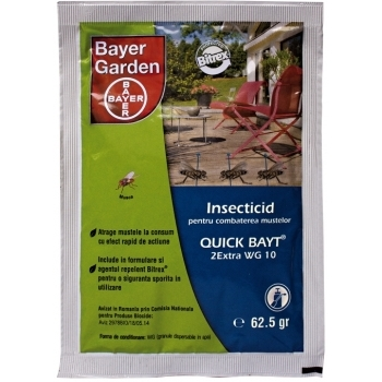 Insecticid Quick Bayt 2Extra WG 10(62.5 gr) Bayer