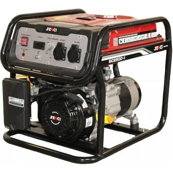 Generator de curent Senci, SC 2500, monofazic, putere 2.0 kW, benzina, putere motor 5.5 Cp, tensiune 230 V, pornire manuala, AVR inclus