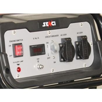 Generator de curent Senci, SC 2500, monofazic, putere 2.0 kW, benzina, putere motor 5.5 Cp, tensiune 230 V, pornire manuala, AVR inclus #2
