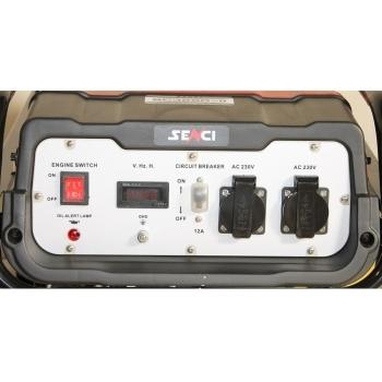 Generator de curent Senci, SC 3500, monofazic, putere 3.1 kW, benzina, putere motor 7 Cp, tensiune 230 V, pornire manuala, AVR inclus #2