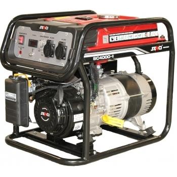 Generator de curent Senci, SC 4000, monofazic, putere 3.8 kW, benzina, putere motor 7.5 Cp, tensiune 230 V, pornire manuala, AVR inclus