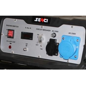 Generator de curent Senci, SC 5000, monofazic, putere 4.5 kW, benzina, putere motor 11 Cp, tensiune 230 V, pornire manuala, AVR inclus #2