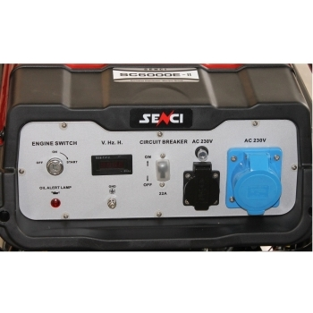 Generator de curent Senci, SC 6000E, monofazic, putere 5.5 kW, benzina, putere motor 13 Cp, tensiune 230 V, pornire electrica, AVR inclus #2