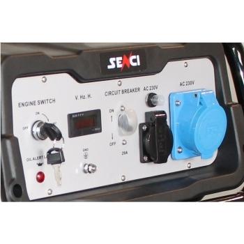 Generator de curent Senci SC 8000E, AVR inclus, Pornire electrica #2