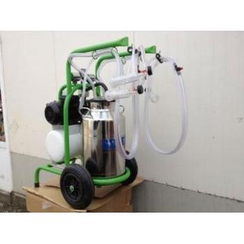 Aparat de muls oi/capre Milkkar2/1 Premium, 2 posturi, bidon inox 30L, pompa vid uscata fara ungere, pulsatoare pneumatice cu filtru aer, tanc vacuum, autospalare, productivitate 70 oi / 36 capre / ora