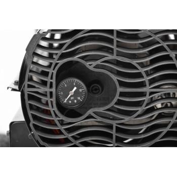 Turbina diesel cu aer cald Hecht 3038,  cu roti si manere 37 kW, 295 mp #3