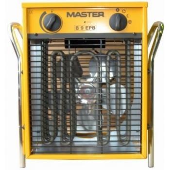 Termosuflanta electrica industriala Master B9EPB, 4.5/9 kW, flux aer 800 mc/h, Eurokomax