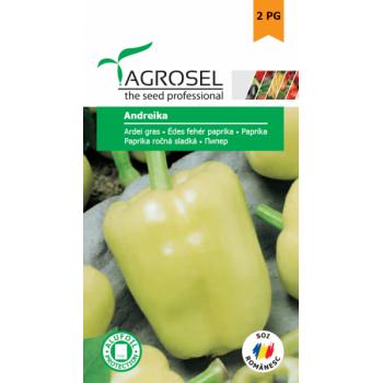 Seminte ardei gras Andreika(1 gr), Agrosel, 2PG