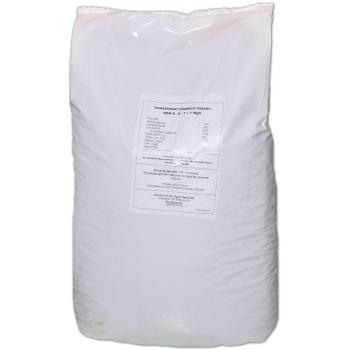 Ingrasamant granulat Bio, cu aplicare la sol, NPK 8-6-7+1MgO, 25 kg, Fertikal