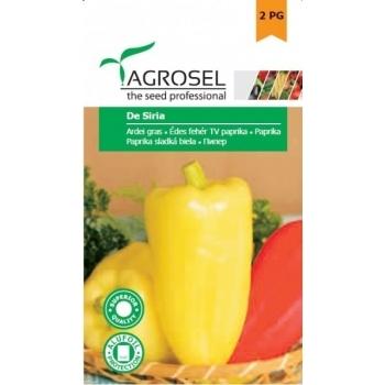 Seminte ardei gras De Siria(1 gr), Agrosel