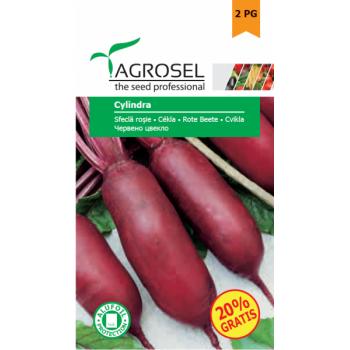 Seminte sfecla rosie Cylindra(5 gr), Agrosel, 2PG